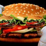 ハンバーガーの気になる脂肪とカロリー!ダイエット食材のしょうがをプラス